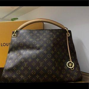 Authentic Artsy Louis Vuitton Bag